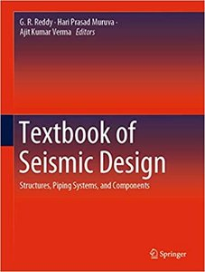 Textbook of Seismic Design: Structures, Piping Systems, and Components-cover