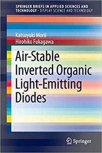 Air-Stable Inverted Organic Light-Emitting Diodes-cover