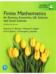 Finite Mathematics for Business, Economics, Life Sciences, and Social Sciences, 14/e (GE-Paperback)-cover