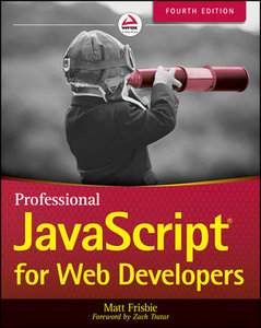 Professional JavaScript for Web Developers, 4/e (Paperback)-cover