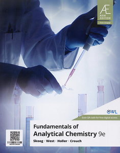 Fundamentals of Analytical Chemistry, 9/e (Asia Edition)(Paperback)【內含Access Code,經刮除不受退】