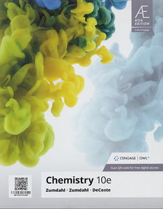 Chemistry, 10/e (Asia Edition)(Paperback)【內含Access Code,經刮除不受退】-cover