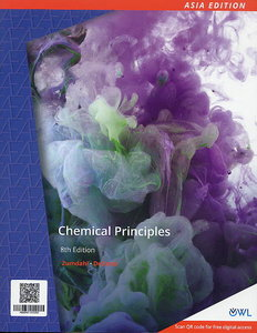 Chemical Principles, 8/e (Asia Edition)(Paperback)【內含Access Code,經刮除不受退】-cover