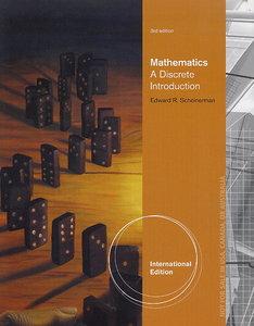 Mathematics: A Discrete Introduction, 3/e (Paperback)-cover