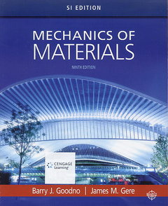 Mechanics of Materials, 9/e (SI Edition)(Paperback) -cover