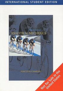 Analytical Mechanics, 7/e (IE-Paperback)-cover
