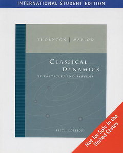 Classical Dynamics of Particles and Systems, 5/e (IE-Paperback)-cover