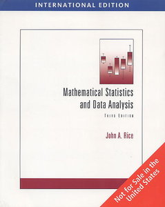 Mathematical Statistics and Data Analysis, 3/e (IE-Paperback)(with CD Data Sets)-cover