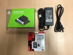 NVIDIA Jetson Nano Developer Kit 開發套件 組合 B (主板+ 5V5A 變壓器 + 64 GB SD卡)-cover