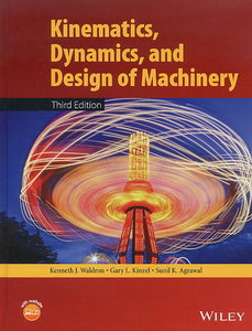 Kinematics, Dynamics, and Design of Machinery, 3/e (Hardcover)-cover