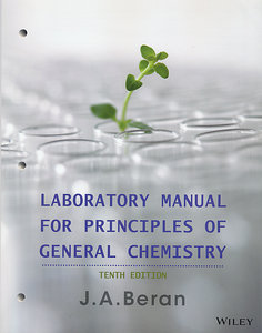Laboratory Manual for Principles of General Chemistry, 10/e (Paperback)-cover