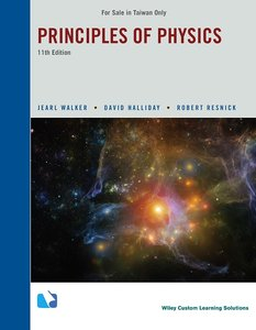 Principles of Physics,11/e (Paperback) (Taiwan Custom Version)-cover
