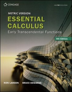 Essential Calculus: Early Transcendental Functions 4/e (Metric Version)