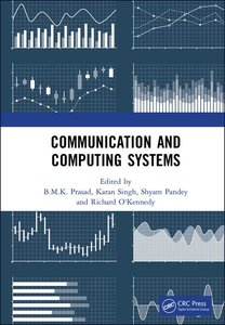 Communication and Computing Systems: Proceedings of the 2nd International Conference on Communication and Computing Systems (Icccs 2018), December 1-2-cover