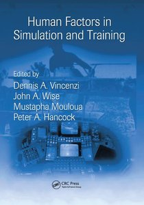 Human Factors in Simulation and Training-cover