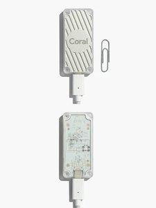 Google Coral USB Accelerator | Edge TPU 人工智慧加速器-cover