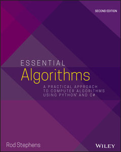 Essential Algorithms: A Practical Approach to Computer Algorithms Using Python and C#, 2nd Edition-cover