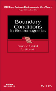 Boundary Conditions in Electromagnetics-cover
