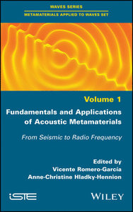 Fundamentals and Applications of Acoustic Metamaterials: From Seismic to Radio Frequency-cover