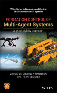 Formation Control of Multi-Agent Systems: A Graph Rigidity Approach-cover