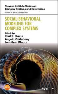 Social-Behavioral Modeling for Complex Systems-cover