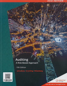 Auditing: A Risk-Based Approach, 11/e (IE-Paperback)【內含Access Code,經刮除不受退】-cover