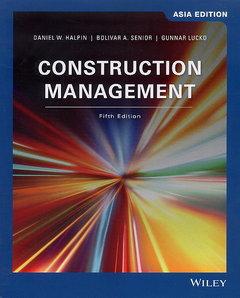 Construction Management, 5/e (Asia Edition)(Paperback)-cover