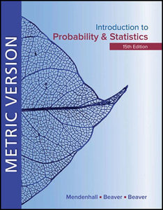 Introduction to Probability and Statistics, 15/e (SI Edision)(IE-Paperback)-cover