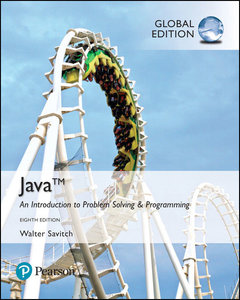 Java: Introduction to Problem Solving & Programmin, 8/e (GE)