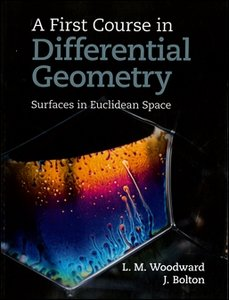 A First Course in Differential Geometry (Paperback)-cover
