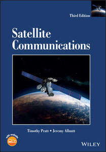 Satellite Communications, 3/e-cover