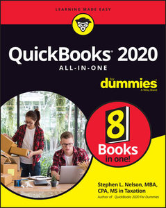 QuickBooks 2020 All-In-One For Dummies-cover