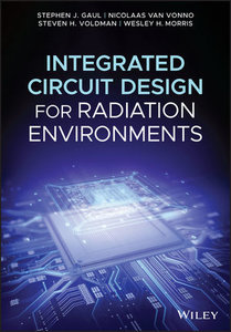 Integrated Circuit Design for Radiation Environments-cover