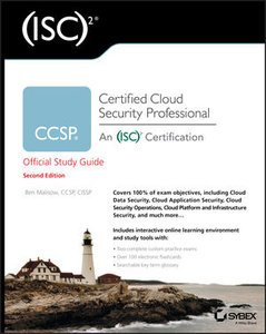 CCSP (ISC)2 Certified Cloud Security Professional Official Study Guide,2e-cover