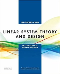 Linear System Theory and Design, 4/e (Paperback)