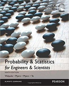 Probability & Statistics for Engineers & Scientists, 9/e (GE-Paperback)-cover