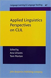 Applied Linguistics Perspectives on CLIL (Language Learning & Language Teaching)-cover