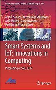 Smart Systems and Iot: Innovations in Computing: Proceeding of Ssic 2019-cover
