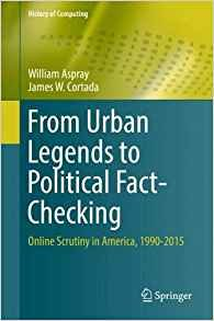 From Urban Legends to Political Fact-Checking: Online Scrutiny in America, 1990-2015-cover