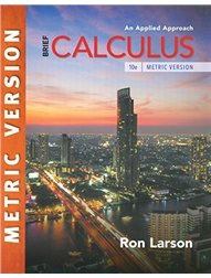 Brief Calculus: An Applied Approach, 10/e (Metric Edition)(Paperback)-cover