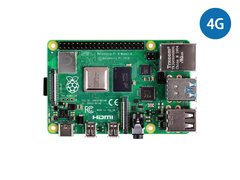 Raspberry Pi 4 套件包(含4GB主板+小米變壓器+Type-C線+32GB SD卡+Micro HDMI線+鋁合金盒子+散熱片)-cover