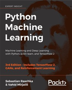 Python Machine Learning: Machine Learning and Deep Learning with Python, scikit-learn, and TensorFlow 2, 3/e-cover