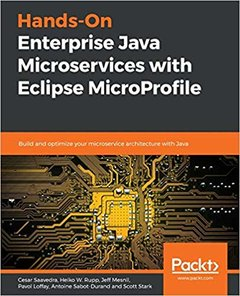 Hands-On Enterprise Java Microservices with Eclipse MicroProfile-cover