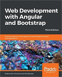 Web Development with Angular and Bootstrap 3/e-cover