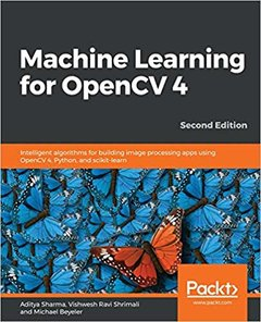Machine Learning for OpenCV 4- Second Edition-cover