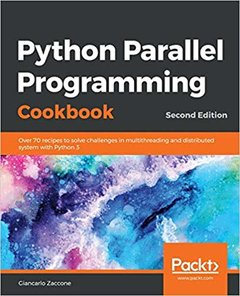Python Parallel Programming Cookbook, 2/e (Paperback)-cover