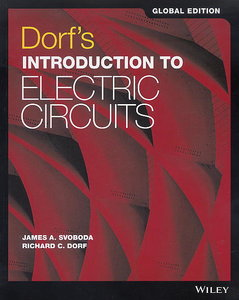 Dorf`s Introduction to Electric Circuits (Paperback)-cover