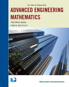 Advanced Engineering Mathematics, 10/e (Update) (Taiwan Custom Version)(Paperbck)-cover