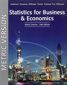 Statistics for Business and Economics, 14/e (Paperback)-cover