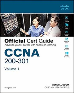 CCNA 200-301 Official Cert Guide, Volume 1-cover